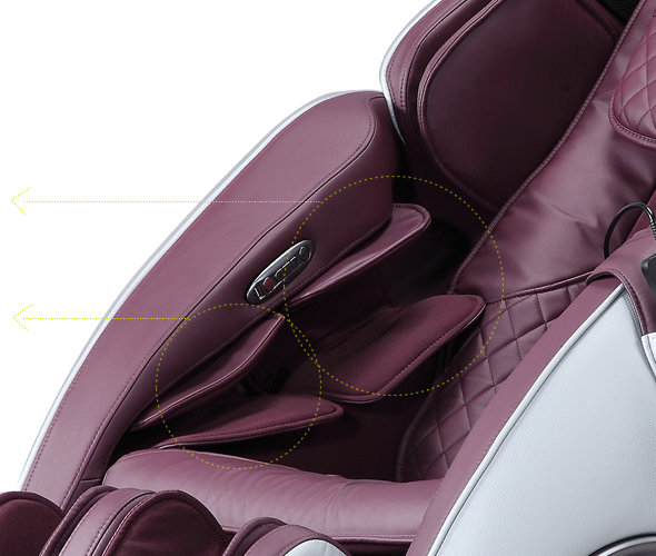 Arm massage with the Komoder KM400L chair