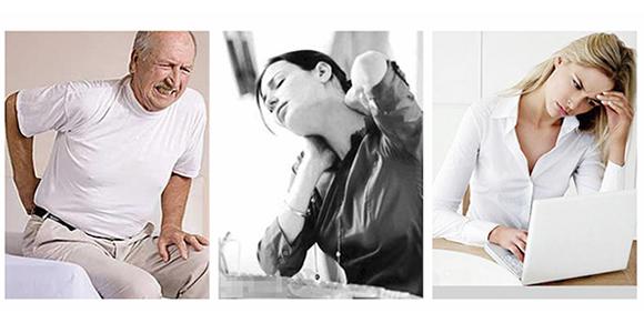 nekpijn of rugpijn